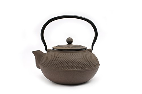 (Guro Gray Cast Iron Teapot 50 Ounces 1.5L Kettle)