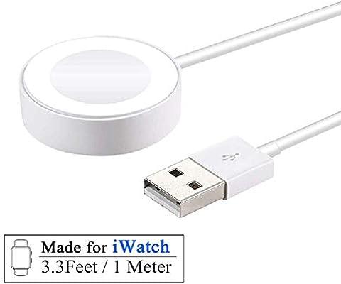 Leynatic Cable de Carga para Apple Watch,iWatch Cargador,portátil ...