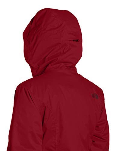 The Veste North Rumba Femme Face Insulated Quest Red culKJTF13