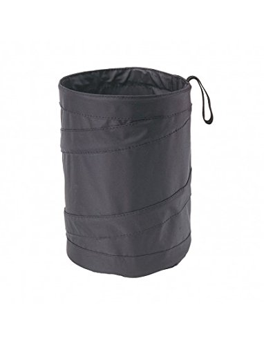 Simply POP01 Pop-up Car Bin Medium Sized Collapsible Foldable Waste Basket hung to a seat using the strap H19cm x W15.5cm Strong bottom Velcro