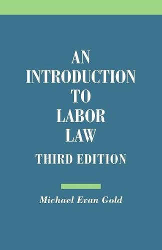 An Introduction to Labor Law for sale  Delivered anywhere in USA