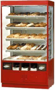 Federal Industries WDC4276SS Specialty Display Non-Refrigerated Self-Serve Full Pan Bakery Case (Federal Bakery Cases)