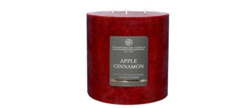 3-Wick Pillar Candle Apple Cinnamon 6