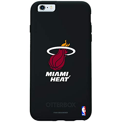 (Fan Brander NBA Phone case, Compatible with Apple iPhone 6 and iPhone 6s with OtterBox Symmetry Series (Miami Heat))