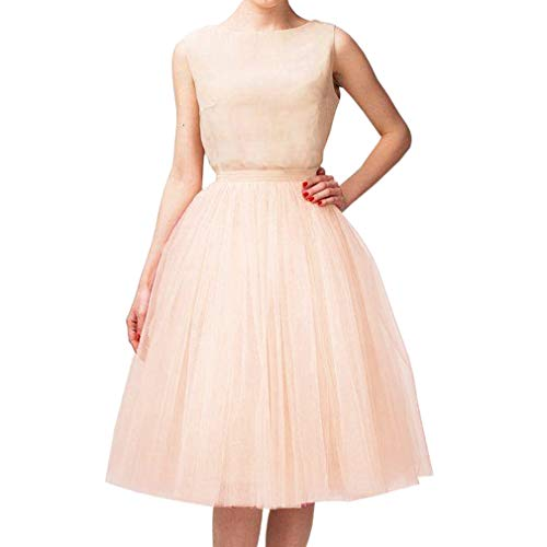 WDPL Adult A-line Tulle Skirt Bridesmaid Petticoat Tutu
