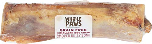 Whole Paws Grain Free Smoked Bully Bone Dog Chew, Large, 1 count