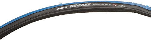 Maxxis Re-Fuse Tire, 700 x 23c, Folding, Blue/Black (Belted Tire Kevlar)