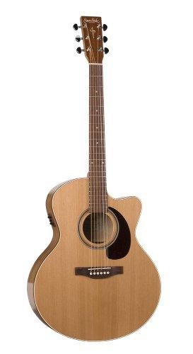Simon & Patrick Cutaway GT Mini Jumbo Acoustic Electric Guitar - Cedar A3T