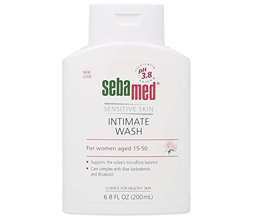 Sebamed Feminine Intimate Wash pH 3.8 Daily Vaginal Hygiene Wash 6.8 Fluid Ounce (200mL)