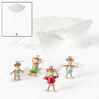 Beach Monkey Paratroopers by Fun Express