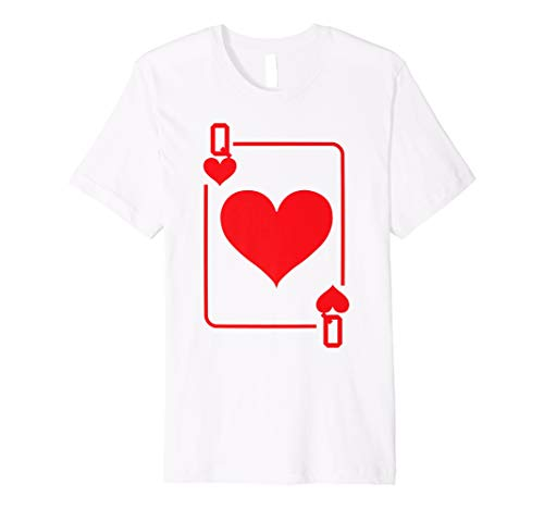 Queen of Hearts Playing Card Halloween Costume Premium