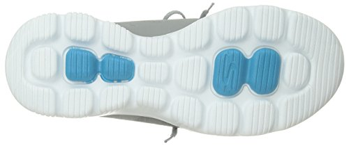 Skechers Performance Women's Go Walk Evolution Ultra-Turbo Sneaker,Gray/Blue,8.5 M US by Skechers (Image #3)
