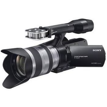 bdf12eaa9 Sony NEX-VG20H Interchangeable Lens HD Handycam Camcorder with 18-200mm F3.5