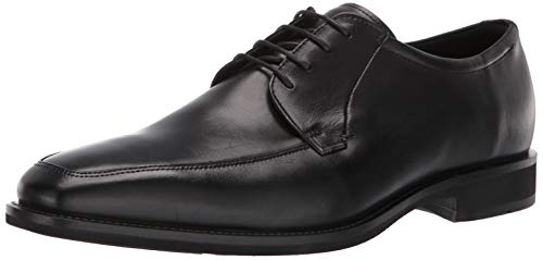 ECCO Men's Calcan Apron Toe Tie Oxford Black 42 M EU (8-8.5 US) (Toe Tie Oxford)