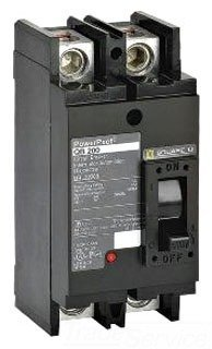 Schneider Electric QDL22200 PowerPact Q - molded case circuit breaker - 2-pole - 25 kA - 240 V - 200 A by Schneider Electric