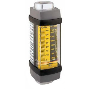Hedland H601A-001 Flowmeter, Aluminum, For Use With Oil and Petroleum Fluids, 0.1 - 1.0 gpm Flow Range, 1/2' NPT Female
