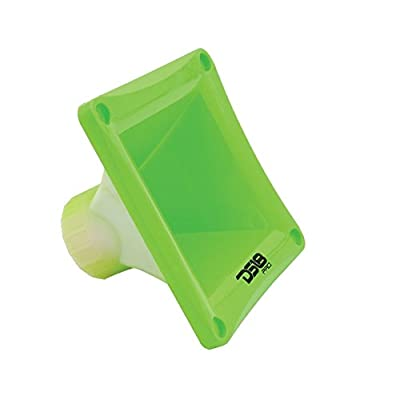 DS18 PRO-H44 Green Universal Square Driver Tweeter Horn Body Easy Twist On/Off Installation, Set of 1 (Green): Car Electronics