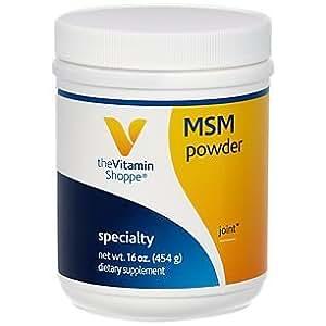 the Vitamin Shoppe MSM Powder 454 Powder French Vanilla