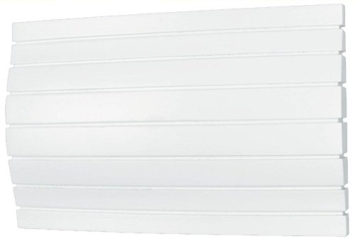Heath/Zenith 32/M-B Contemporary Style Wired Door Chime with Horizontal Lines, White ()