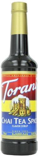 Torani Syrup, Chai Tea Spice, 25.4 Ounce (Pack of 4)