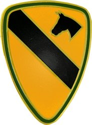 1st Cavalry Division Lapel Pin or Hat Pin (5/8
