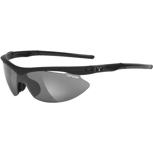Tifosi Slip Interchangeable Lens Sunglasses - Matte Black