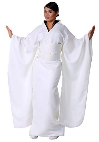 Women's Kill Bill O Ren Ishii Costume X-Large White -