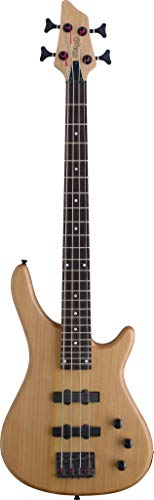 Stagg BC300 Nylon 4-String Fusion 3/4-Size Electric Bass Guitar - Natural (Natural Guitar Bass Electric)