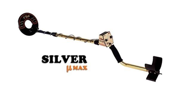 Metal Detector Tesoro Silver Umax 8 búsqueda Oro Plata Joyas monedas metales: Amazon.es: Deportes y aire libre