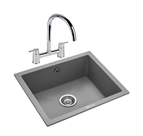 (Rangemaster PAR4553CG/ Paragon Kitchen Sink, Stone)