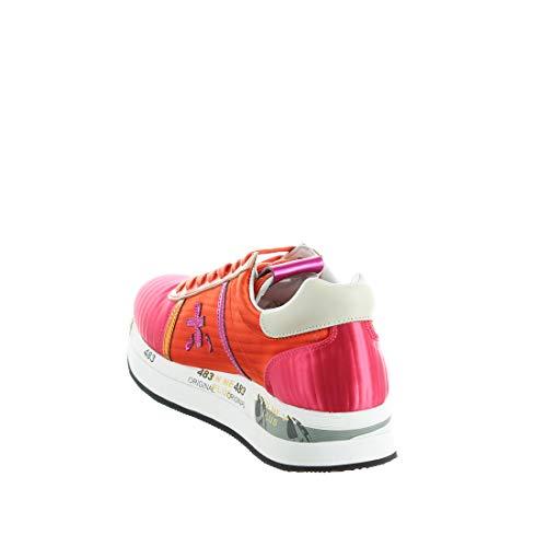 Rosa Mujer Deportivo Premiata Mujer Color Conny Modelo Arancio Marca Calzado Para Premiata Rosa 3617 Zqw67U