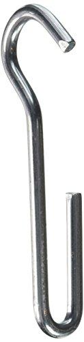 Enclume BPHA HS Blister Angled Pot Hooks (6 Pack), Hammered Steel -