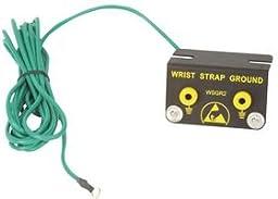 3M WSGR2 Metal Grounding Block, 10\' Cord, Black