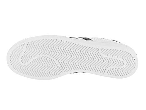 Adidas Heren Superster Wit / Zwart-zwart