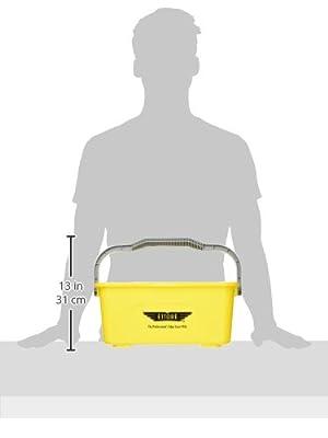Ettore 3 Gallon Compact Super Bucket with Ergonomic Handle