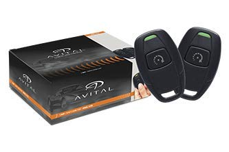 Avital 4115L 1-Way Remote Start System with 1-Button Remote