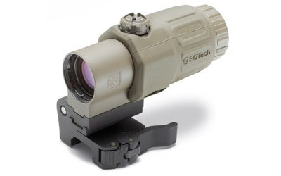 EoTech G33.STSTAN Side Mount Red Dot Sight Magnifier, Tan Matte Finish by EOTech