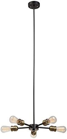 Globe Electric 65956 Novogratz 5-Light Chandelier