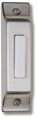 Craftmade BSCB-PW Die-Cast Builder's Series Surface Mount Lighted Push Button, Pewter