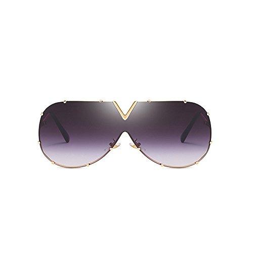 Película de al de Deportes adecuada sol Reflectante Gray Espejo volar rana Gafas Gafas color aire de sol libre marco de piloto polarizada de Viajar grande Piloto para de polarizadas Gafas ST4qqwYv