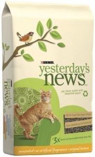 Yesterday's News Original Cat Litter - Unscented - 5 lb