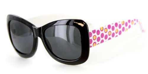 """Hippie Chic"" Polarized(Anti-Glare) Kids Wayfarer Sunglasses Protect Eyes 100%UV"