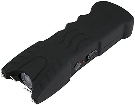VIPERTEK VTS-979 – 59 Billion Stun Gun – Rechargeable with Safety Disable Pin LED Flashlight, Black