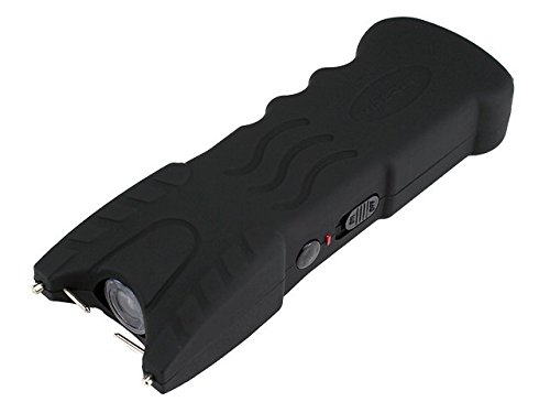VIPERTEK VTS-979 - 53 Billion Stun Gun - Rechargeable with Safety Disable Pin LED Flashlight, Black