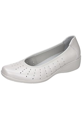 Comfortabel Damen Slipper Weiß