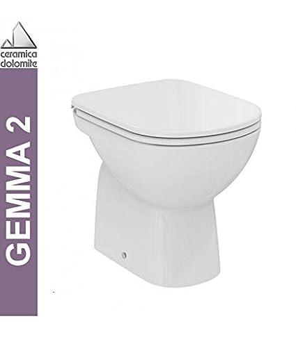 Ceramica Dolomite Schede Tecniche.Vaso Ceramica Dolomite Gemma 2 A Terra Scarico A Pavimento B Eu