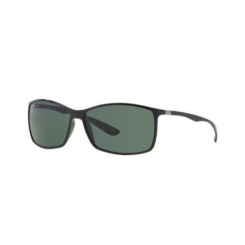 Ray-Ban RB4179 Liteforce Tech Designer Sunglasses - Black/Green / One Size Fits ()
