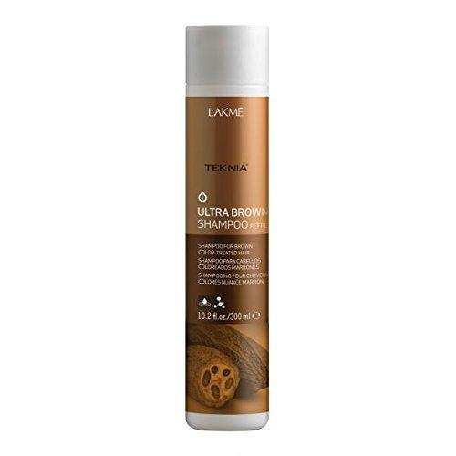 Lakme Teknia Ultra Brown Shampoo 300 ml Farbauffrischendes Shampoo für braun-gefärbtes Haar