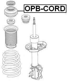 Amazon.com: 344653 - Front Shock Absorber Support Kit For Opel: Automotive