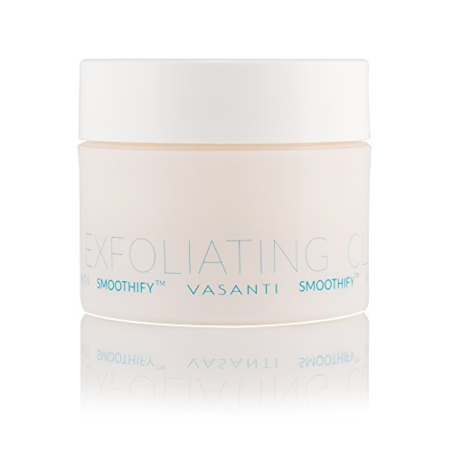 Vasanti Smoothify Sweet 'n Salty Luxury Body Scrub - Enriched with Canadian Pink Salt, Sugar Crystals and Aloe - Paraben Free, Sulfate Free, 99% Natural, Vegan Friendly, Never Tested on Animals -